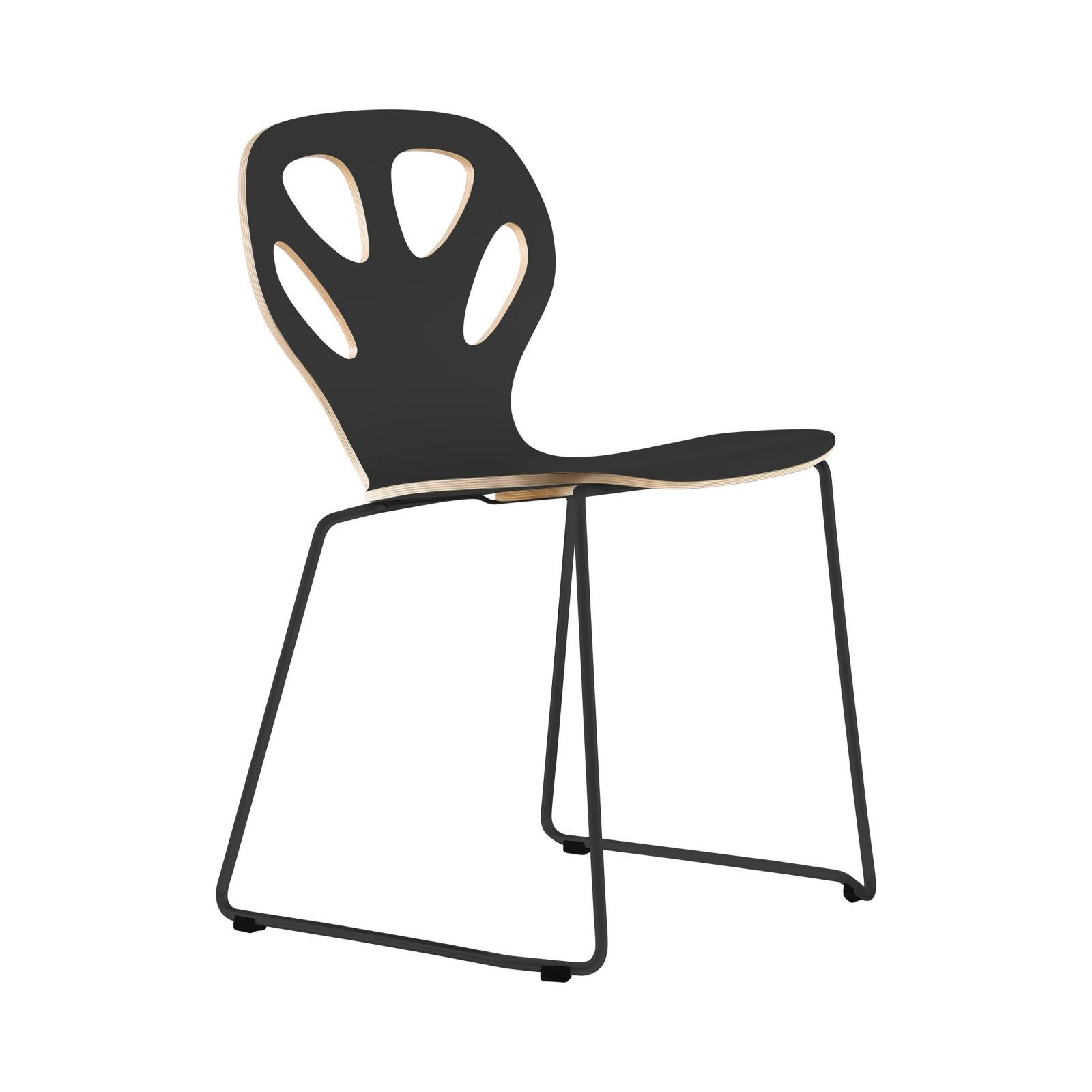 Krzesło MAPLE - M01 - czarne