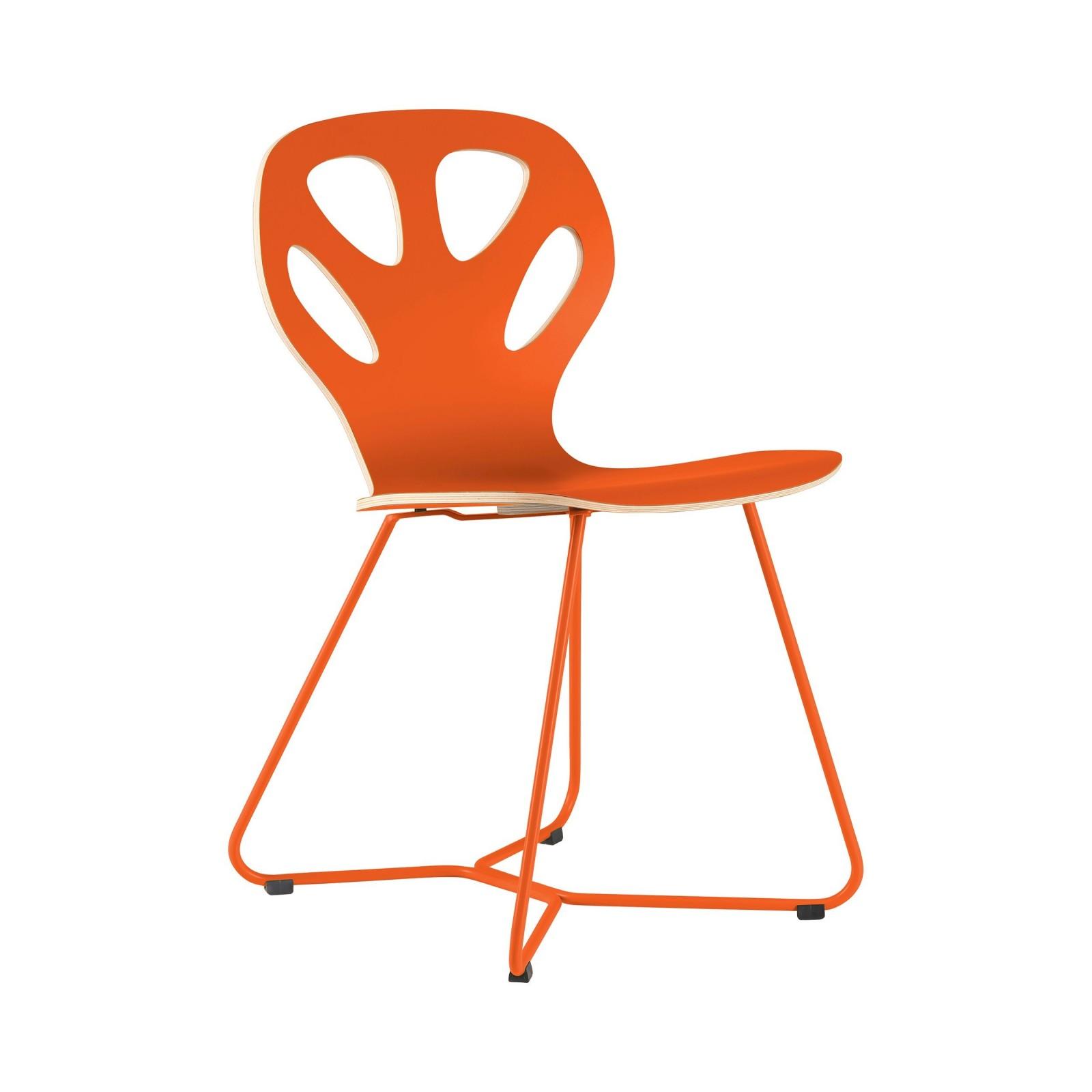 Krzesło MAPLE - M02 - pomarańczowe
