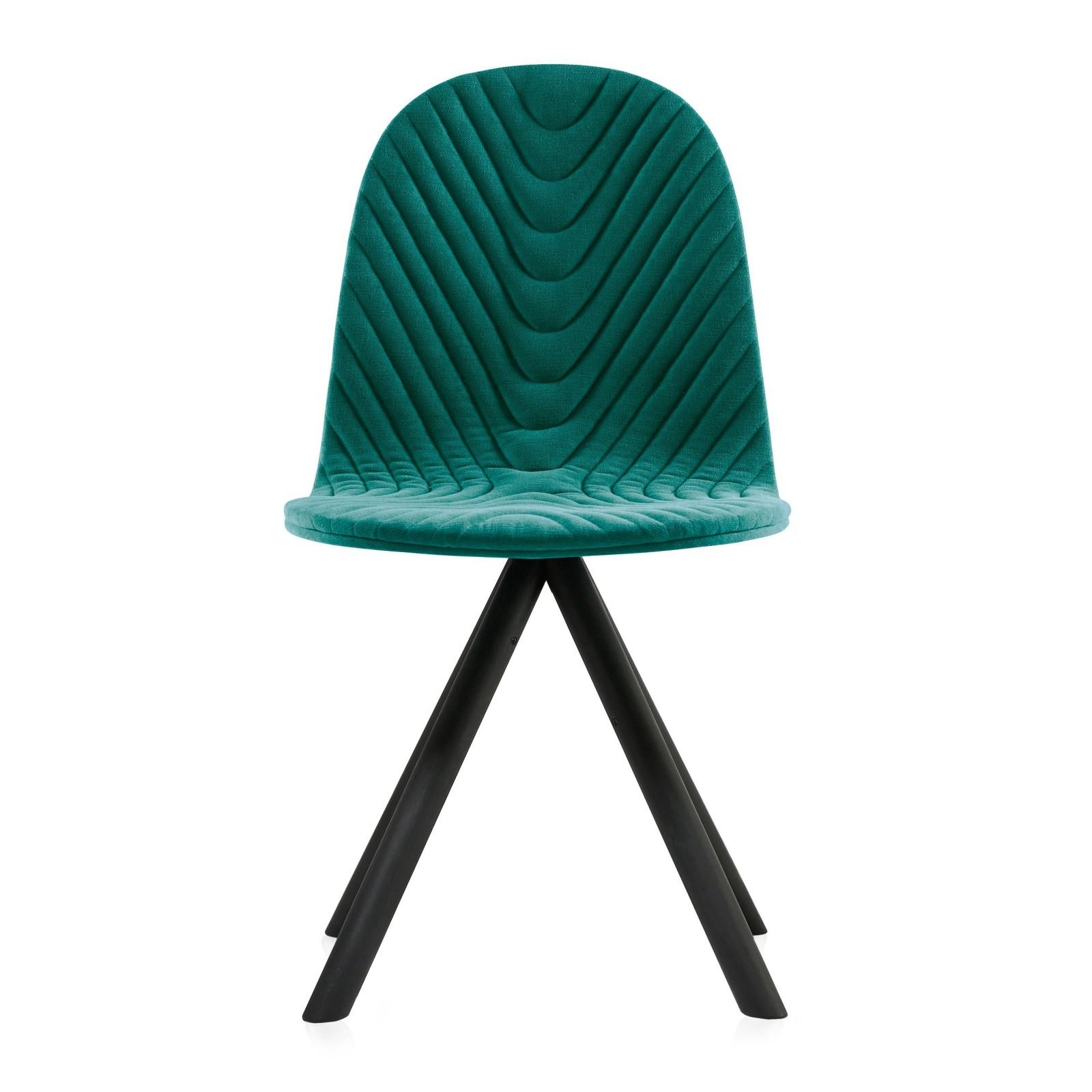Krzesło Mannequin - 01 black - turkus