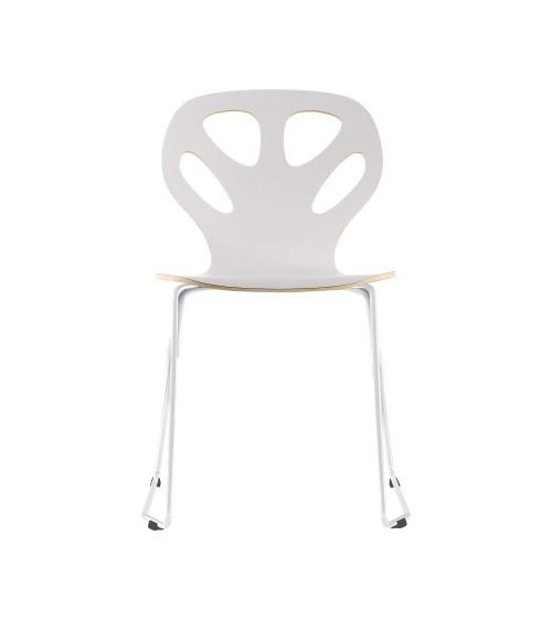 Krzesło MAPLE - M01 - białe
