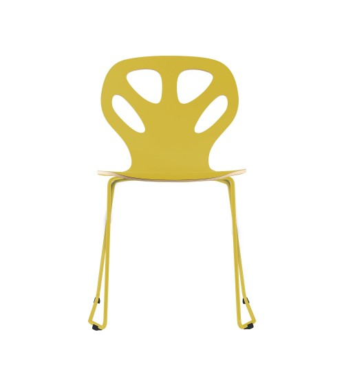 Krzesło MAPLE - M01 - żółte