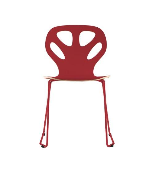 Krzesło MAPLE - M01 - czerwony