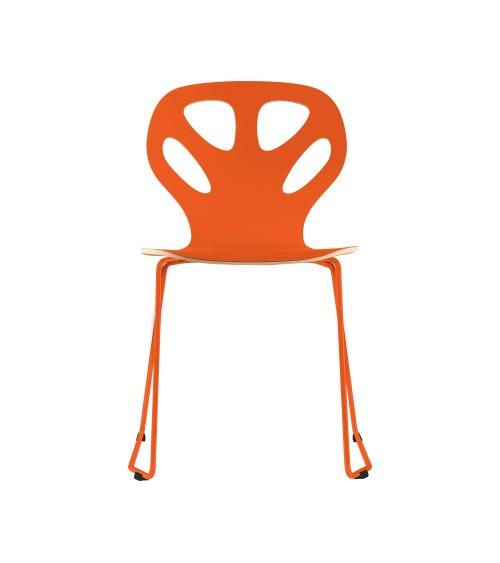 Krzesło MAPLE - M01 - pomarańczowe