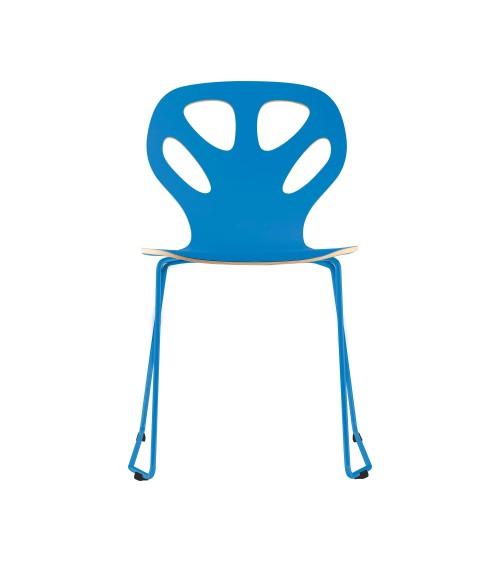 Krzesło MAPLE - M01 - niebieskie