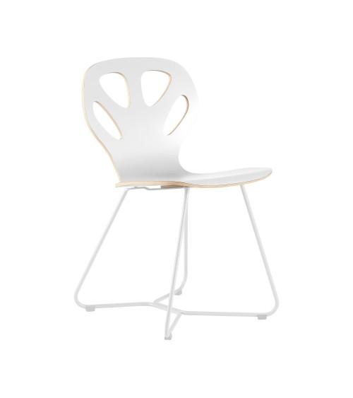 Krzesło MAPLE - M02 - białe