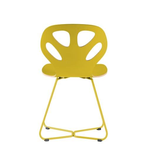 Krzesło MAPLE - M02 - żółty
