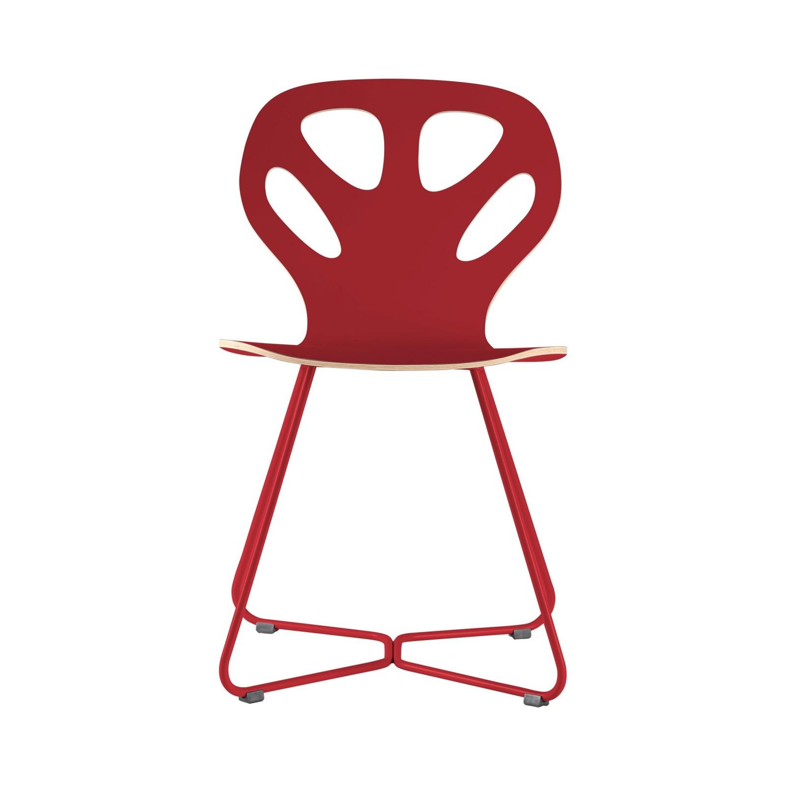 Krzesło MAPLE - M02 - czerwone