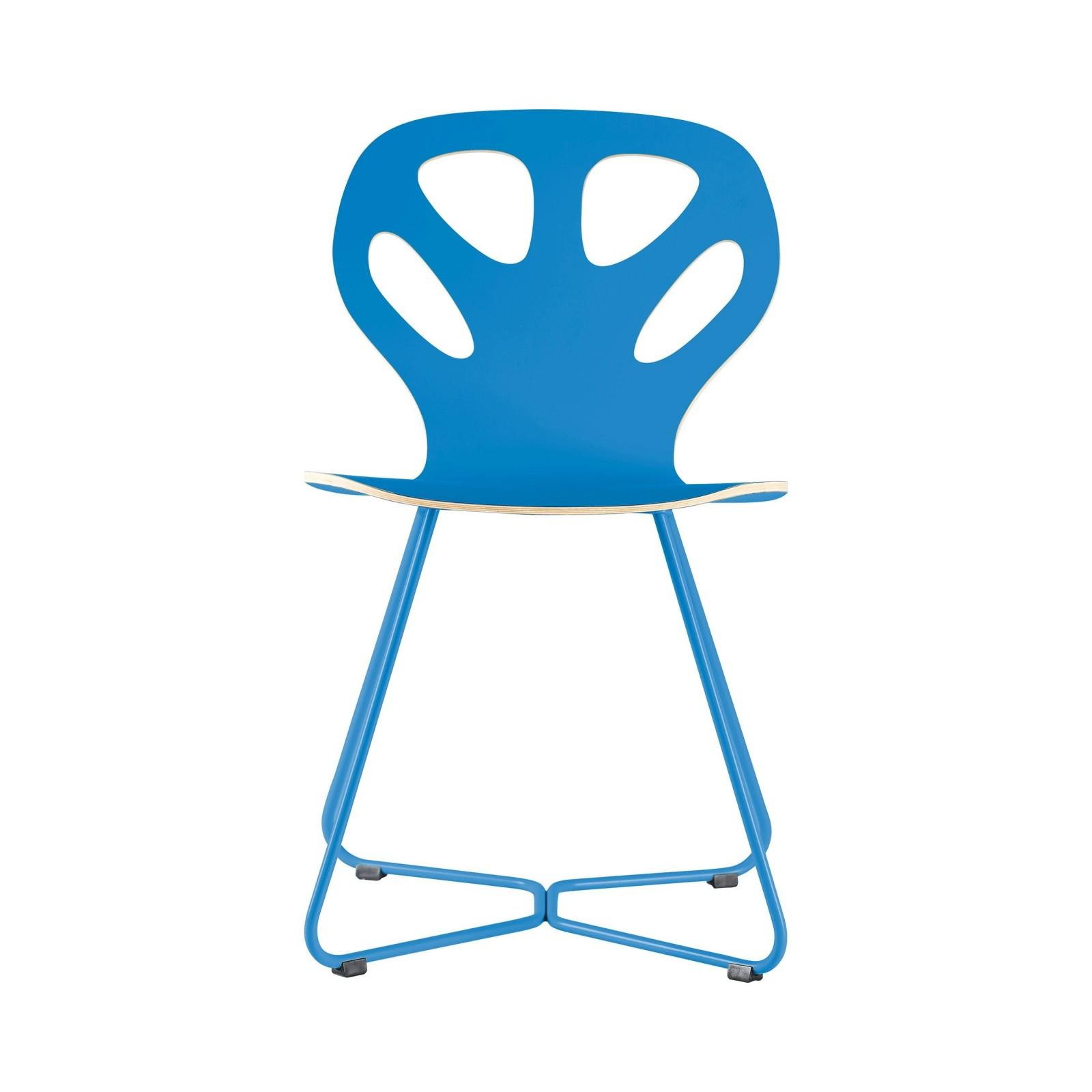 Krzesło MAPLE - M02 - niebieskie