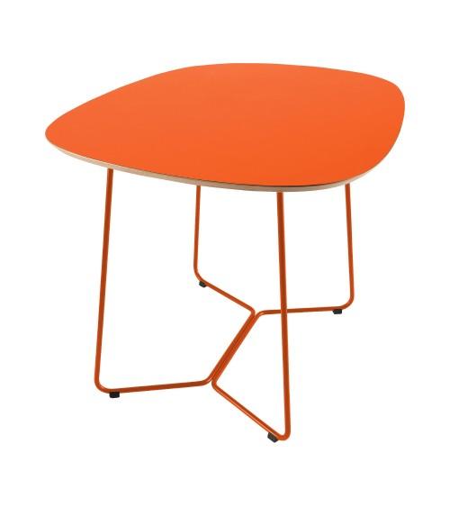 Stół MAPLE - M05 - pomarańczowy