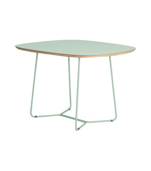 Stół MAPLE - MID - miętowy