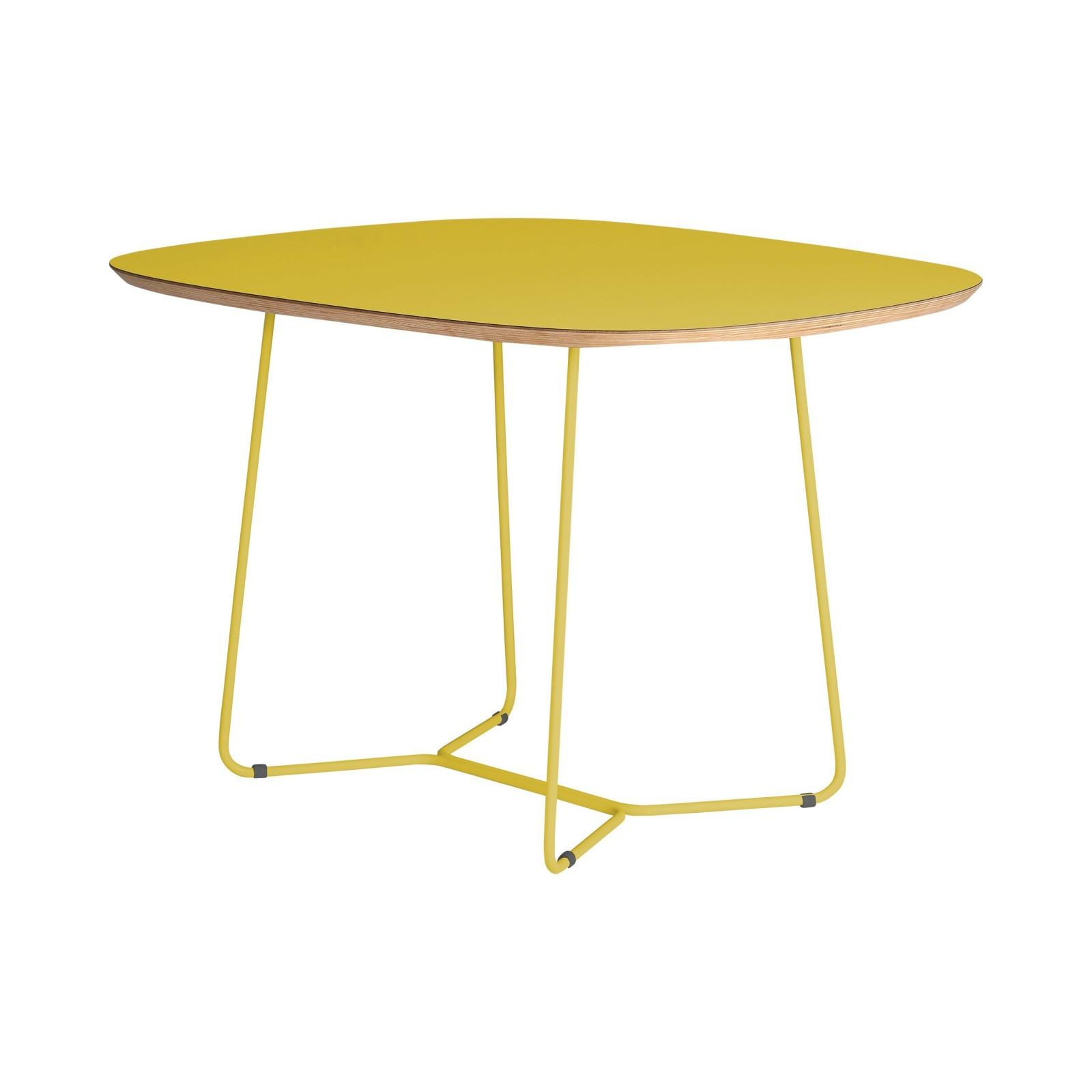 Stół MAPLE - MID - żółty