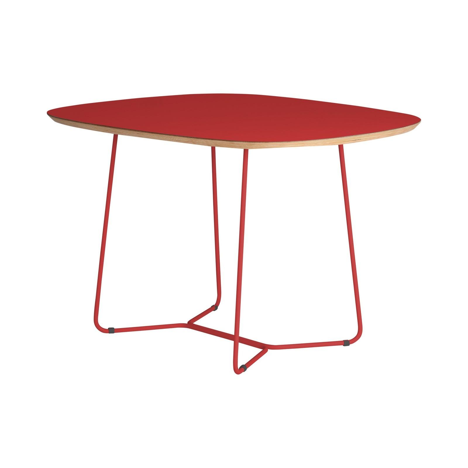 Stół MAPLE - MID - czerwony
