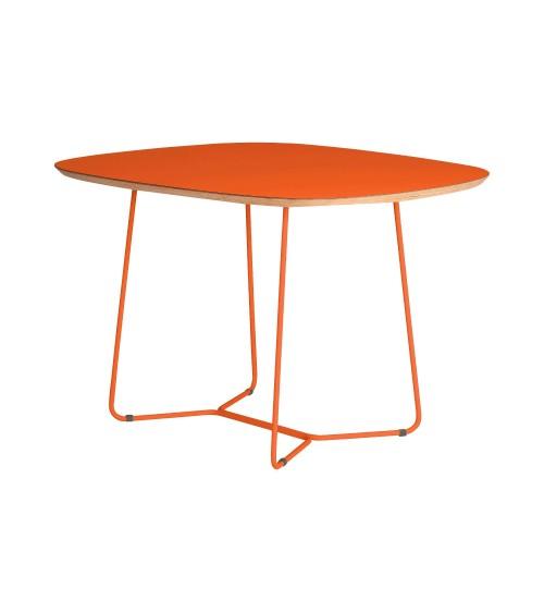 Stół MAPLE - MID - pomarańczowy
