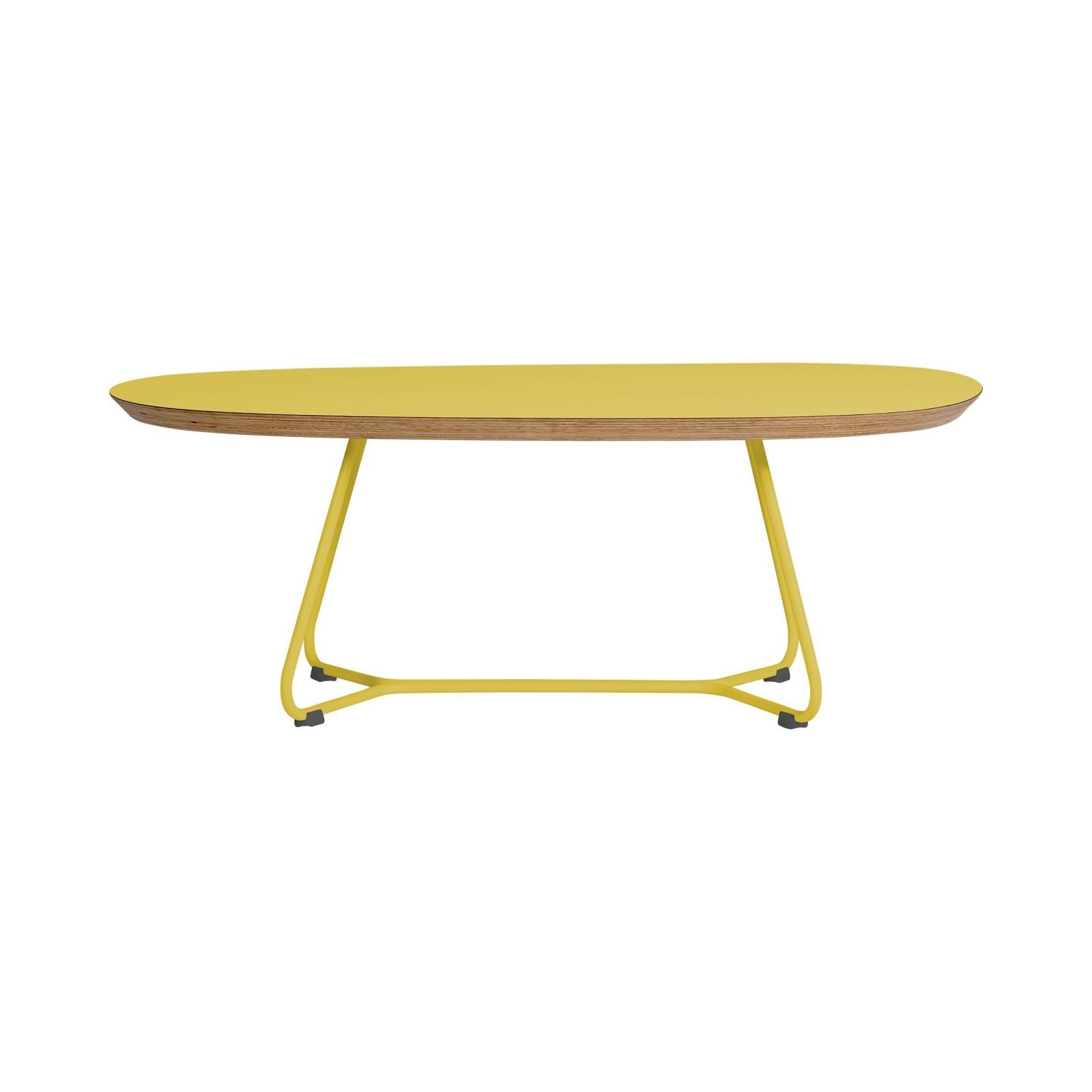 Stolik MAPLE - M06 - żółty