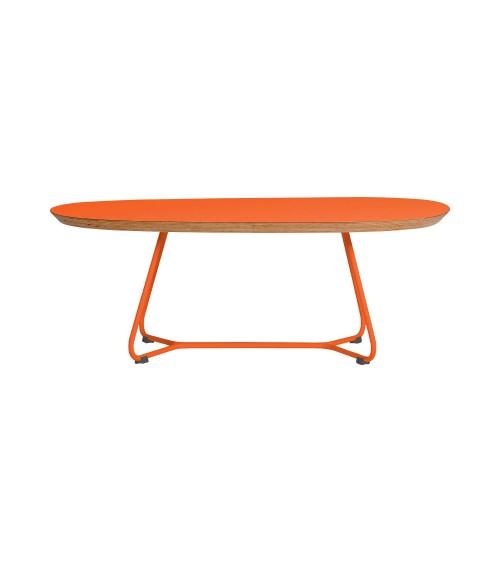 Stolik MAPLE - M06 - pomarańczowy