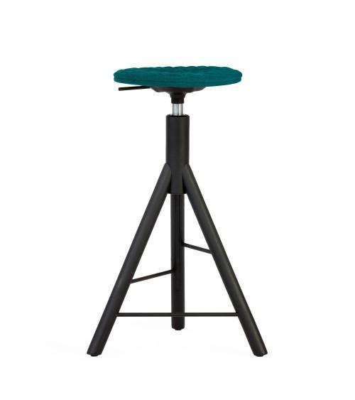 Krzesło barowe turkus