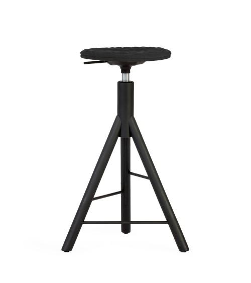 Krzesło barowe MannequinBar - 01 - czarny
