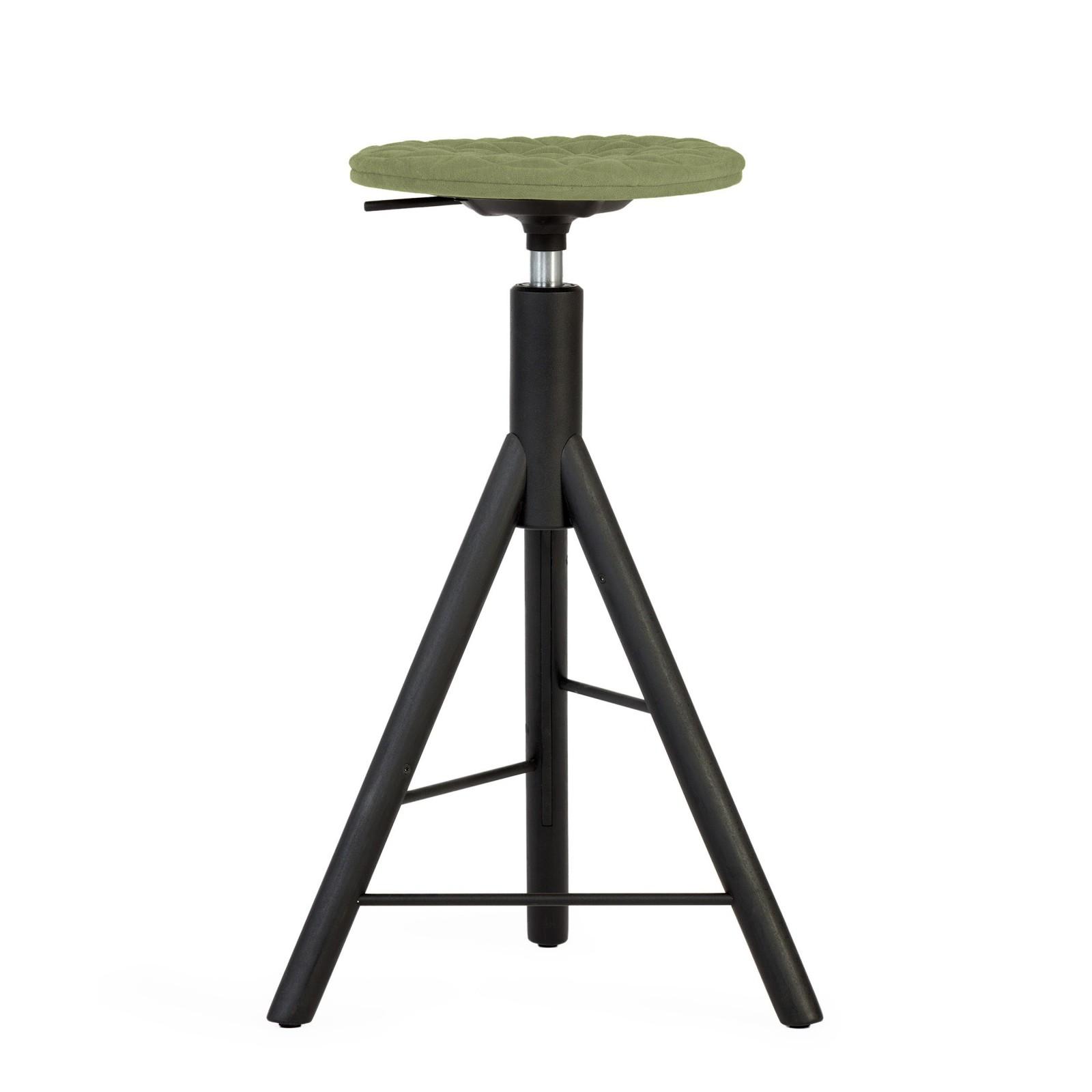 Krzesło barowe MannequinBar - 01 - jasno zielony
