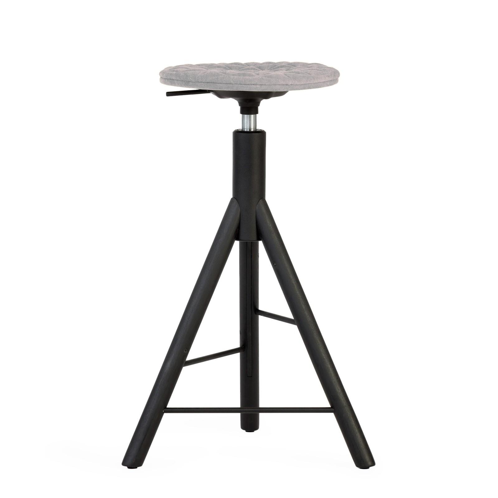 Krzesło barowe MannequinBar - 01 - szary