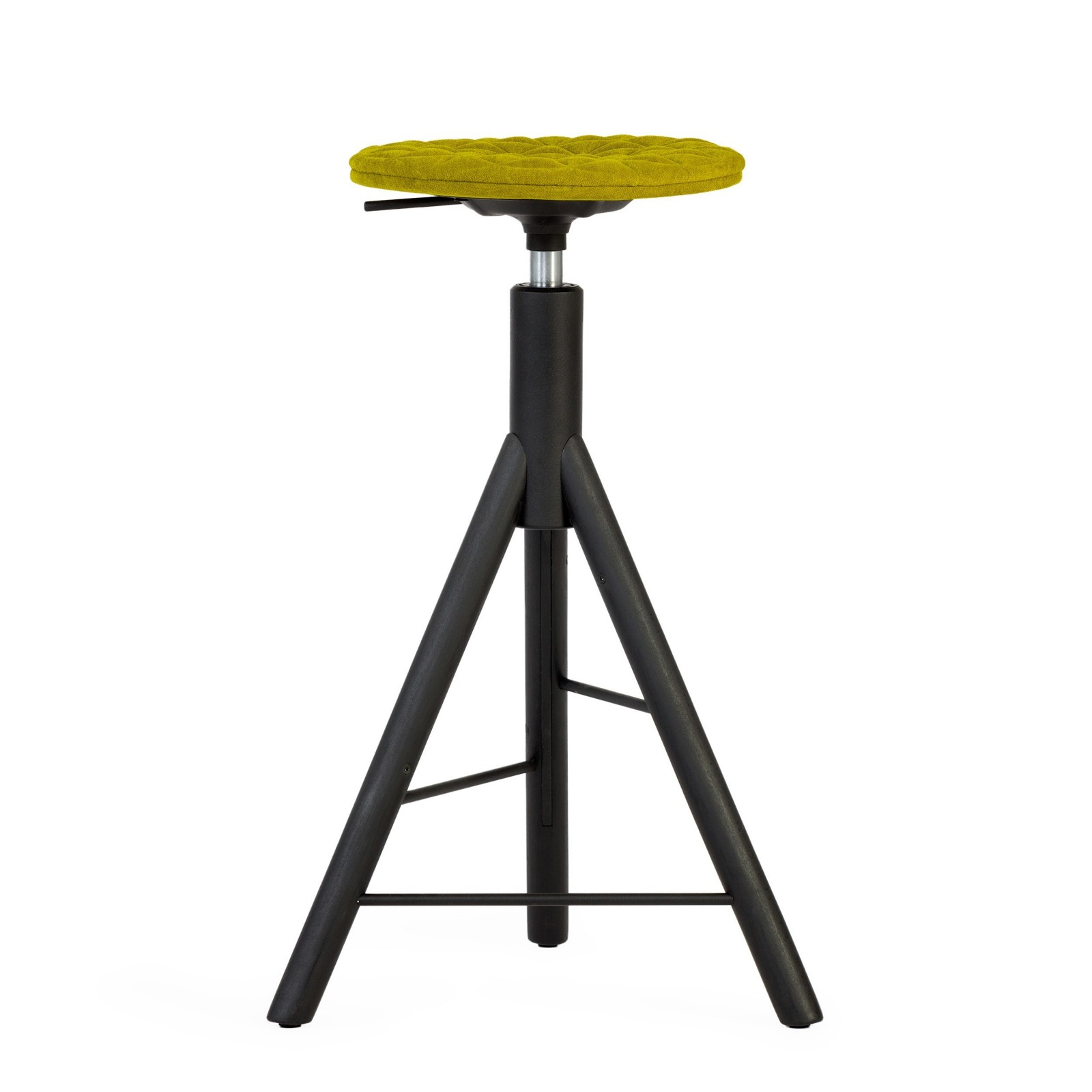 Krzesło barowe MannequinBar - 01 - zielony
