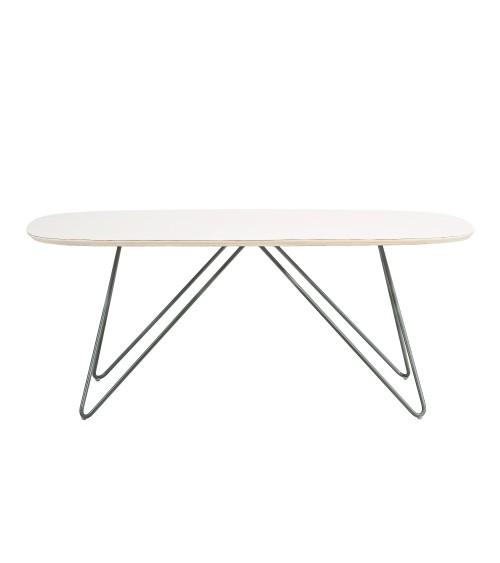 Stolik Zig-Zag DL - biały