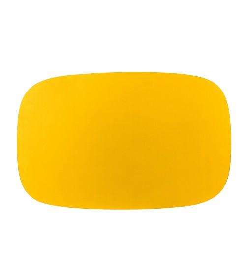 Stolik Zig-Zag DL - żółty