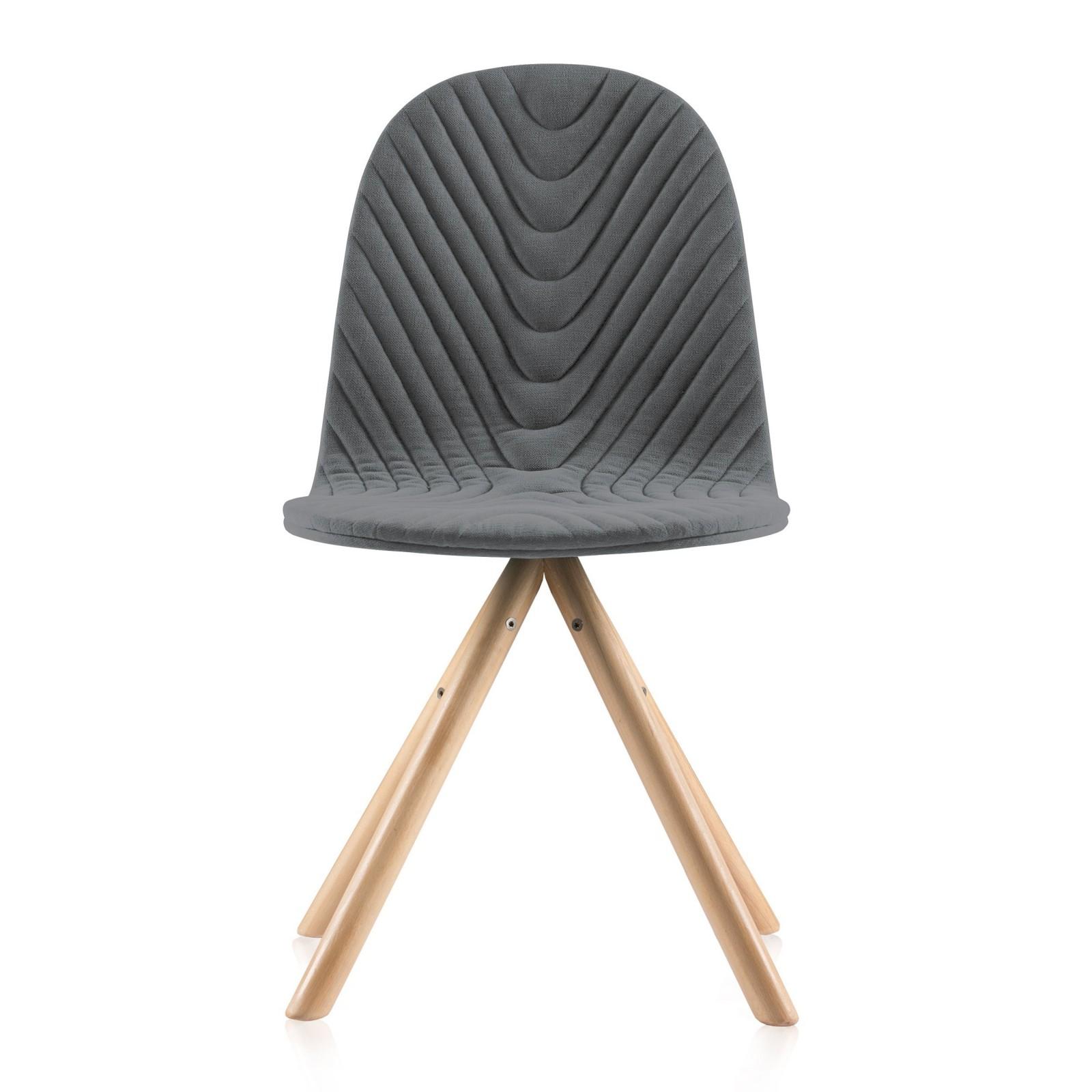 Krzesło Mannequin - 01 - ciemny szary