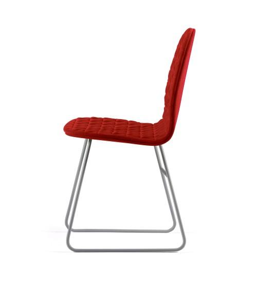 Krzesło Mannequin - 02 - czerwień
