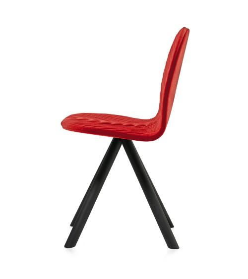 Krzesło Mannequin - 01 black - czerwień