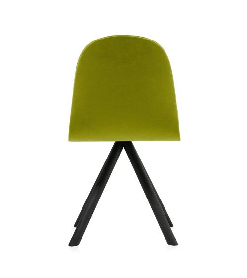 Krzesło Mannequin - 01 black - zieleń