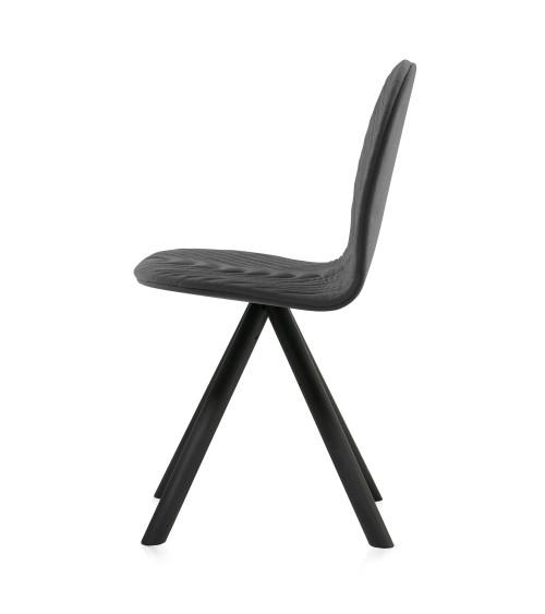 Krzesło Mannequin - 01 black - ciemny szary