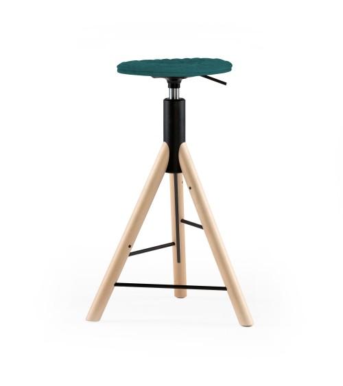 MannequinBar chair natural 01 - turquoise