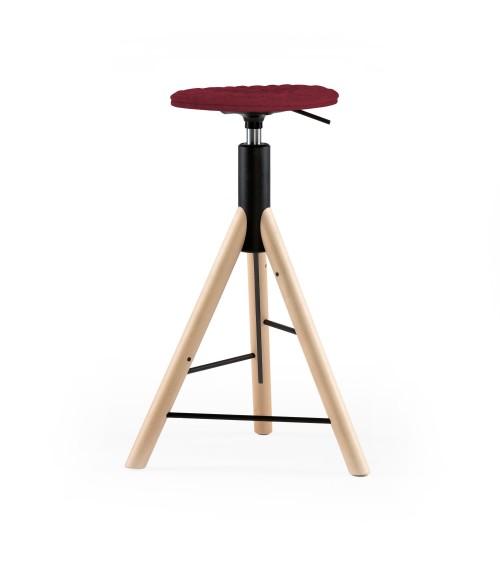 MannequinBar chair natural - 01 - amaranth