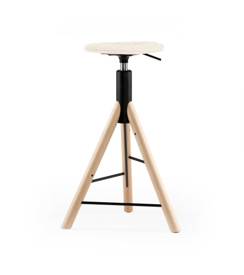 MannequinBar chair natural - 01 - ecru