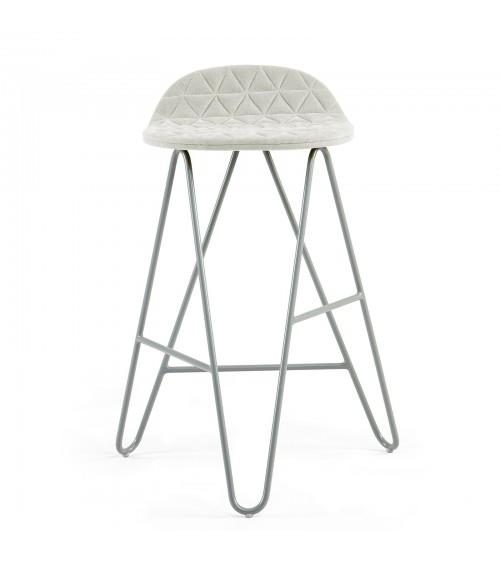 Krzesło barowe MannequinBar Low 02 - ecru