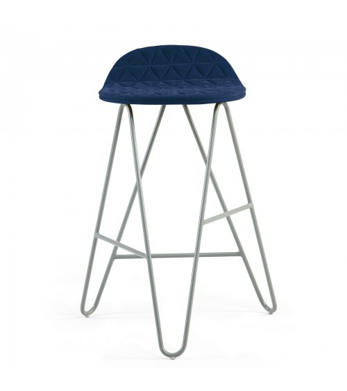 MannequinBar Low chair - 02 - blue