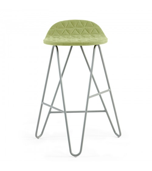 Krzesło barowe MannequinBar Low 02 - jasny zielony