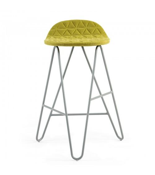Krzesło barowe MannequinBar Low 02 - zieleń