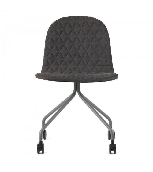 Krzesło Mannequin - 04 - ciemno szary