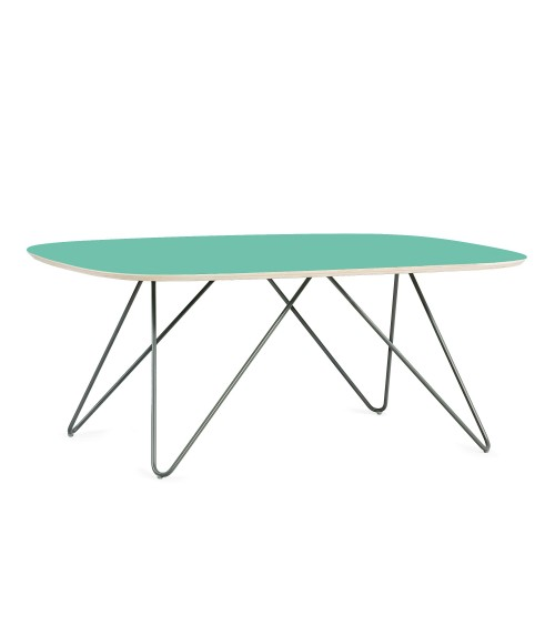 Coffe table Zig-Zag DL - mint