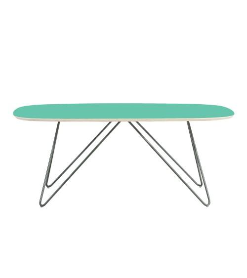 Coffe table Zig-Zag DL - mint