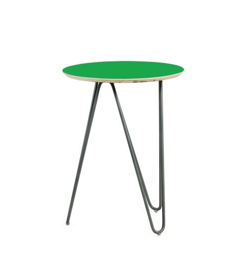 Coffe table Zig-Zag R 40 - green