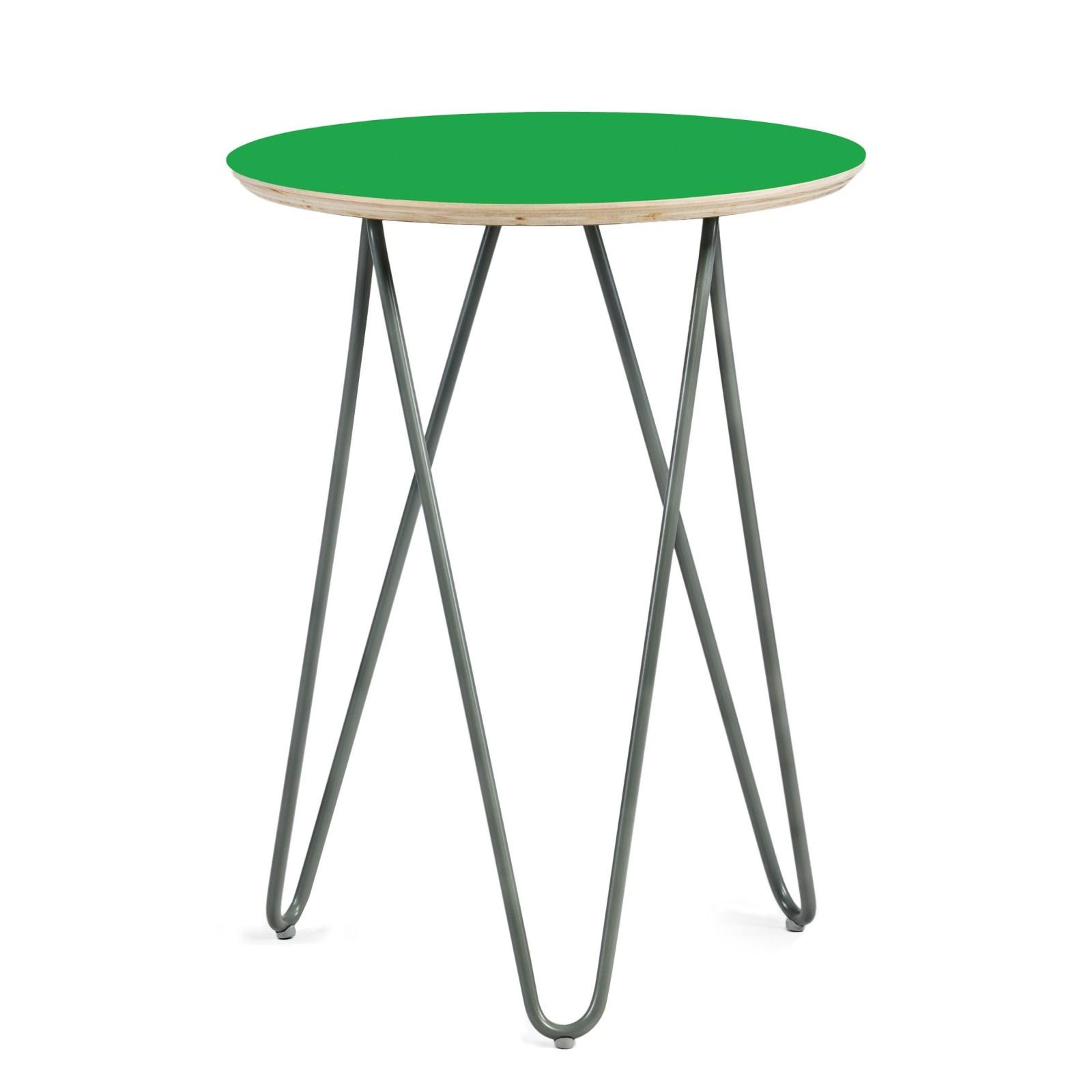 Stolik Zig-Zag  R 40 -  zielony