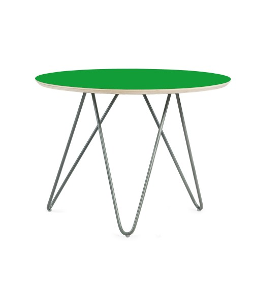 Stolik Zig-Zag R 60 - zielony