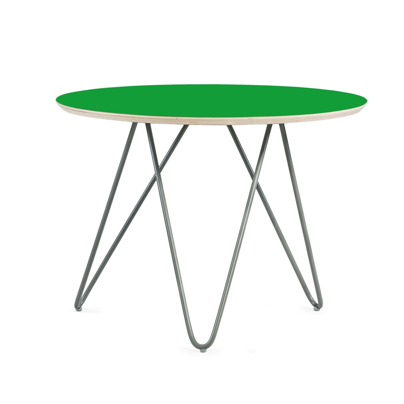 Stolik Zig-Zag R 60 - green