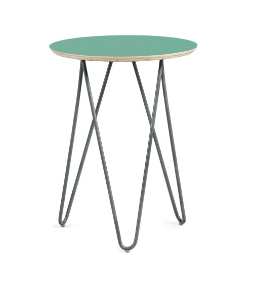 coffe table Zig-Zag R 40 - mint