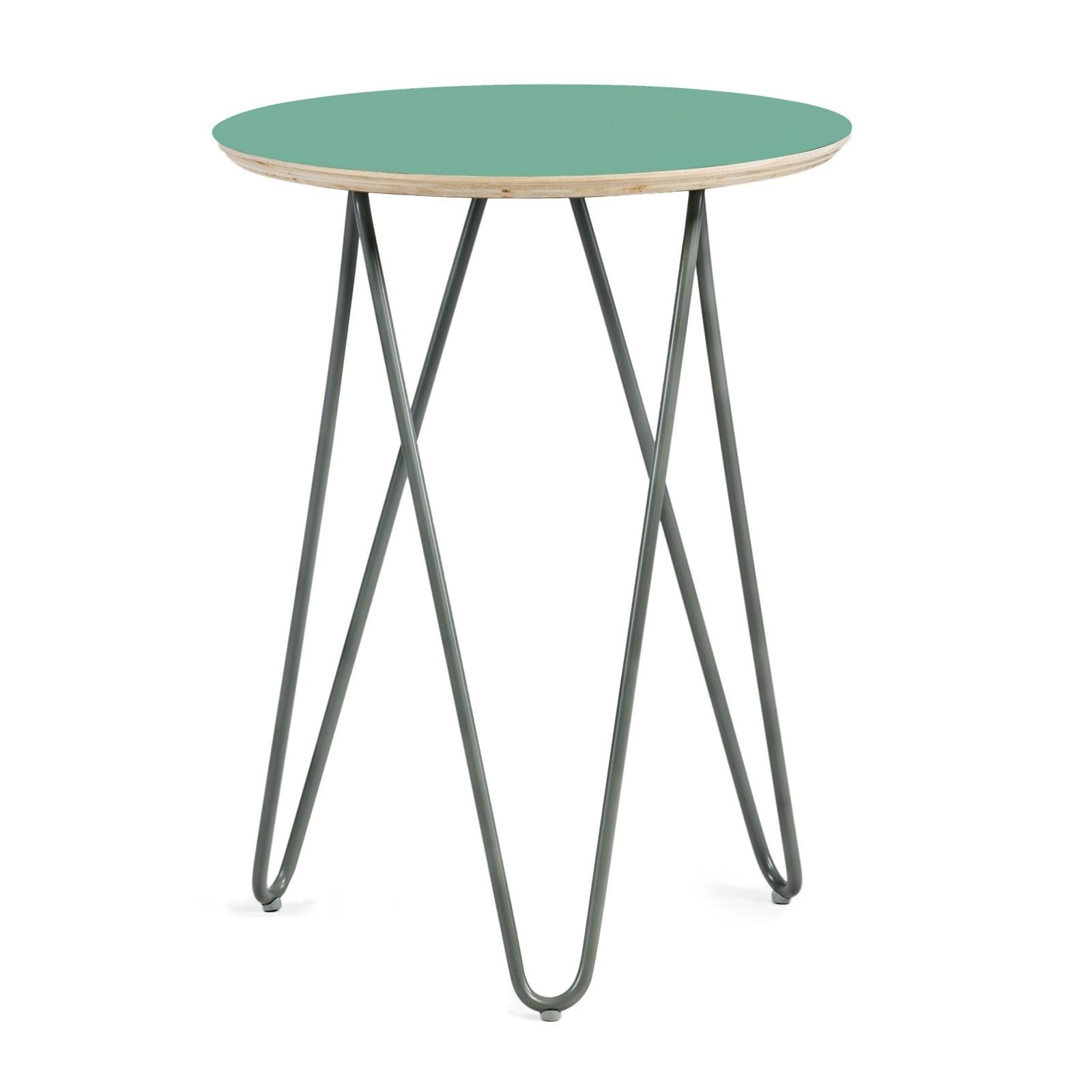 coffe table Zig-Zag R 40 - mint