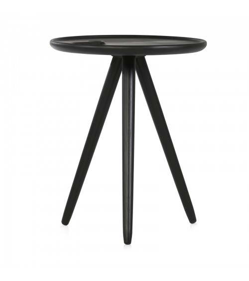 Flower coffee table - black