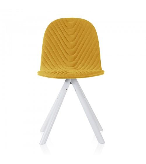 Krzesło Mannequin - 01 white - żółty