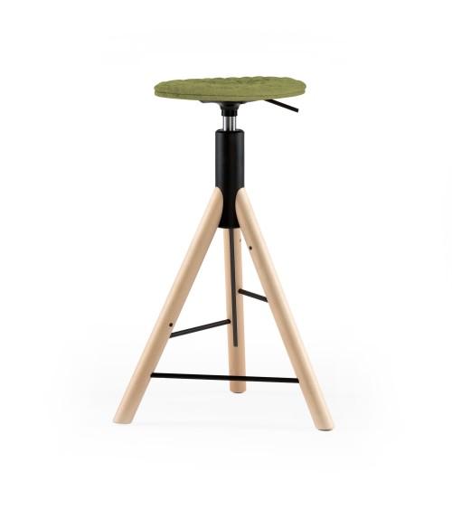 MannequinBar chair natural - 01 - light - green